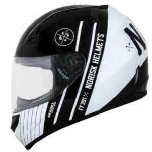Capacete Norisk FF391 Knigth Black White