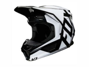Capacete Fox Mx V1 Mvrs Prix Black