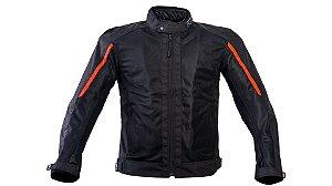 Jaqueta Forza Cirty Rider Summer Black Red