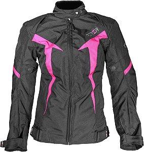 Jaqueta Forza Livia Whinter Black Pink