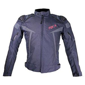 Jaqueta Forza Textile Mugello Black