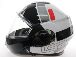 Capacete Ls2 FF399 Valiant Prox White Red Black
