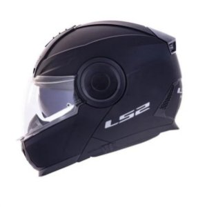 CAPACETE LS2 FF902 SCOPE MONOCOLOR PRETO FOSCO