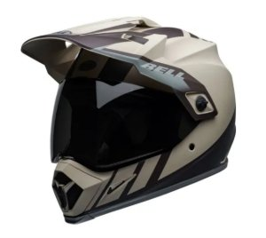 CAPACETE BELL MX 9 ADVENTURE MIPS DASH SAND BROWN GREY