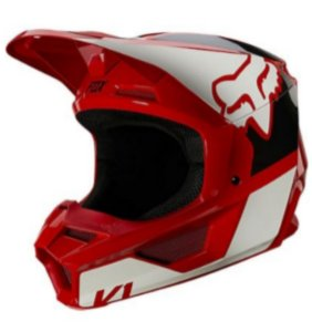 Capacete Fox Mx V1 Mips Revn  Flame Red