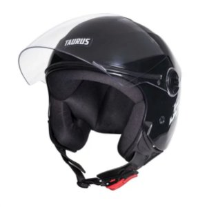 Capacete Moto Taurus Joy23 Open Face Preto