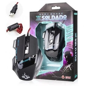 Mouse Gamer X-Soldado 3000 DPI USB- GM-700