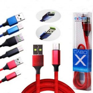 Cabo USB V8 CBX-U100V8F2