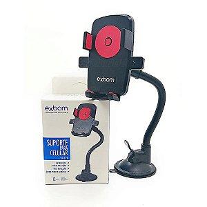 Suporte Veicular Universal Celular/gps Flexível C/ Trava