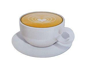Mousepad Com Imã Geladeira Coffee Colorfun Decorativo