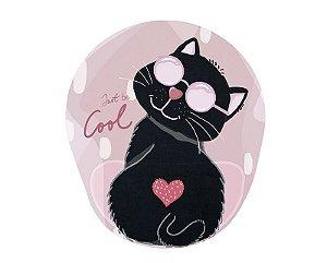 Mousepad Com Imã Geladeira Cat Confort Fun Decorativo
