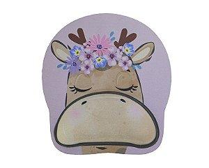 Mousepad Com Imã Geladeira Girafa Colorfun Decorativo