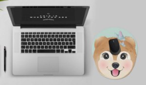 Mousepad Com Imã Geladeira Dog Colorfun Decorativo