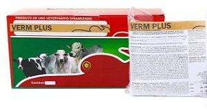 Verm plus homeopatia 01kg - tratamento e prevenção de verminoses - 2 gramas animal dia
