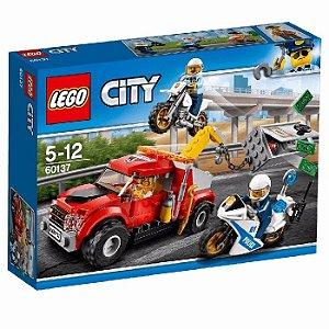 Lego City 60137 Caminhão Reboque Em Dificuldades 144 Peças