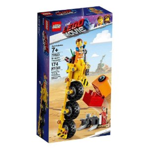 lego movie - o filme 2 - triciclo do emmet - 70823