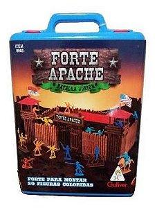 Forte Apache Batalha Junior Gulliver 34 Peças Maleta Lacrada