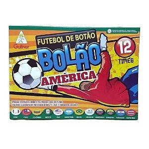 Futebol De Botão Bolão Gulliver 12 Seleções América