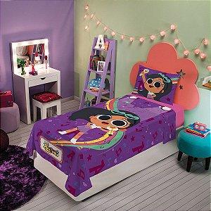 jogo de cama clube da anittinha 2 peças lepper