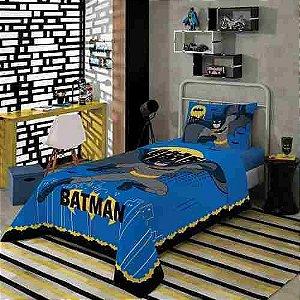 Batman Jogo De Cama Infantil 3 Peças Lepper