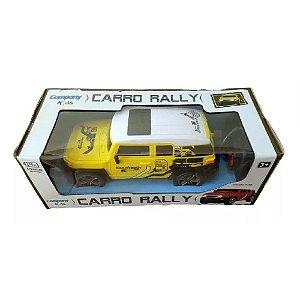 Caminhonete Carrinho Controle Remoto Sem Fio Rally Amarelo