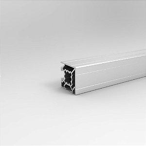 Perfil Estrutural em Alumínio 30x30 Básico de Canto - Canal 8