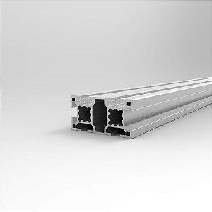 Perfil Estrutural em Alumínio 30x60 Básico - Canal 8