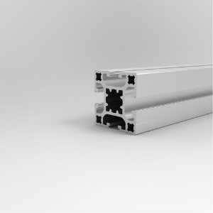 Perfil Estrutural em Alumínio 40x40 Básico - Canal 8
