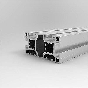 Perfil Estrutural em Alumínio 40x80 Básico - Canal 8