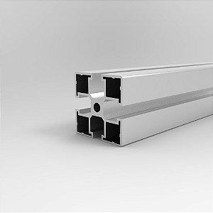 Perfil Estrutural em Alumínio 45x45 Parafuso - Canal Sextavado