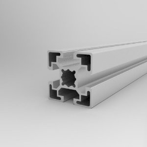 Perfil Estrutural em Alumínio 45x45 Básico - Canal 10