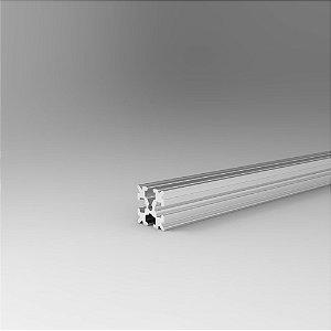 Perfil Estrutural em Alumínio 15x15 - Canal Sextavado M3