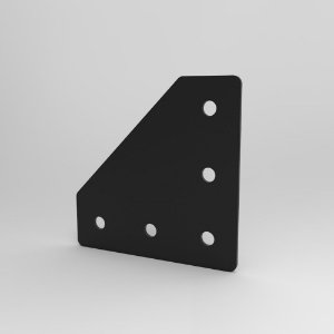 Placa de Conexão 90° p/ Perfil Base 20, 30, 40, 45 e V-Slot