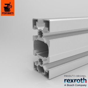 Perfil Estrutural em Alumínio 45x90 Leve Rexroth - Canal 10