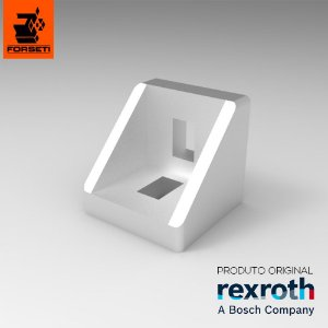 Cantoneira de Alumínio Injetado 27x27x28mm - Rexroth