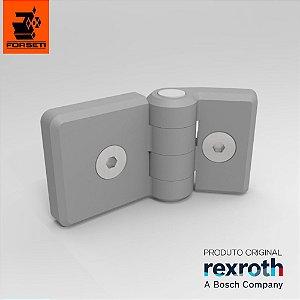 Dobradiça Plástica Com Fixadores - Par - 30x45 - Rexroth