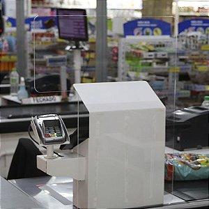 Barreira de Proteção de Check Out - Caixa Supermercado