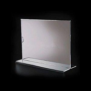 Display de Mesa p/ Folha A4 - Horizontal