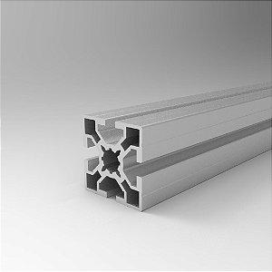 Perfil Estrutural em Alumínio 50x50 Básico - Canal 8