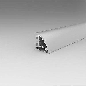 Perfil Estrutural em Alumínio 30x30 Abaulado - Canal 8