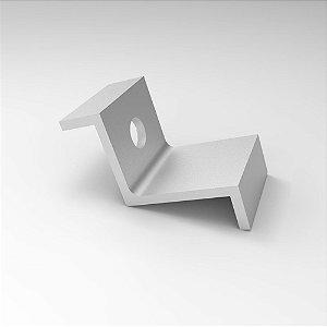 Presilha Lateral em Alumínio para Fixação de Painel Solar
