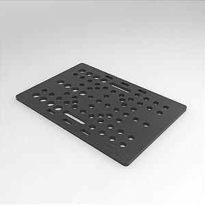 Placa 20-80mm em Alumínio Para Montagem V-Slot