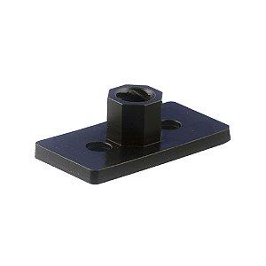 Placa 20x40 em Poliacetal com Porca TR8x8mm Passo 2mm