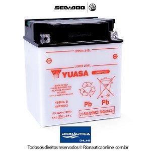 Bateria Yuasa 12V 30Ah com Solução YB30CL-B - 278001882