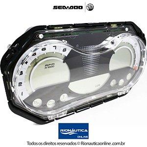 Painel digital de Instrumentos LCD Sea Doo GTI 130 - GTI 155 - WAKE155 - 278002273 + CHICOTE ELETRICO 278002272