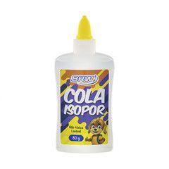 Cola Isopor 80G Brw