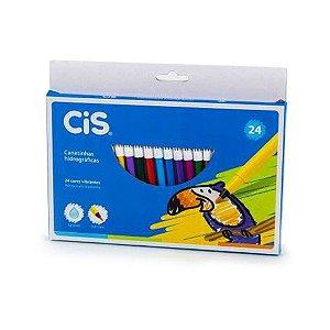 Lápis Hidrocor 24 Cores Cis