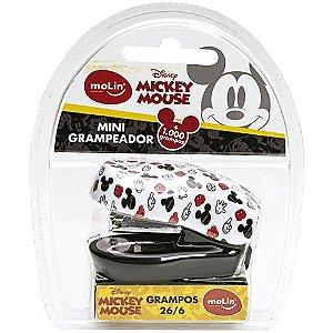 Grampeador Mini Mickey + Caixa c/ Grampos Molin