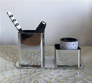 Kit Black & White (Brinde - Bloco Smart Notes Colorido Pastel)