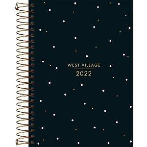 Agenda Espiral West Village M6 2022 Tilibra
